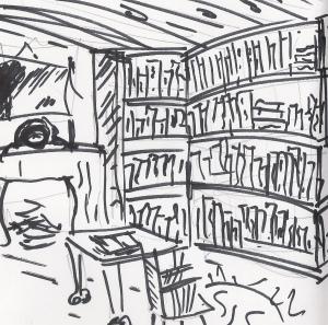 interior alibi library